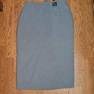Blue gray Venezia skirt